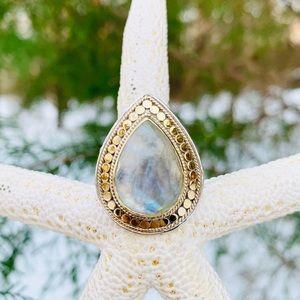 ✨Anna Beck Fabulous Moonstone Drop Ring
